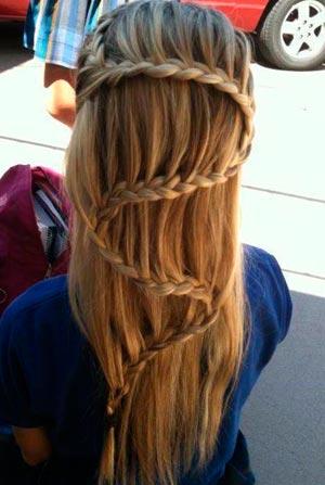 коса змейка