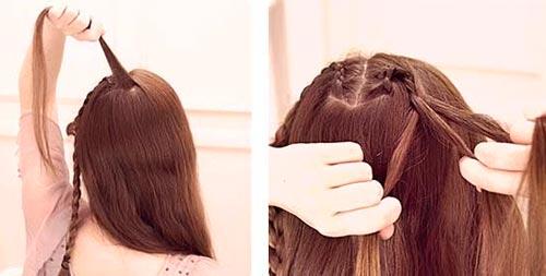 коса сердце