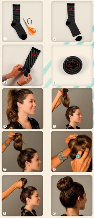Как сделать причёску толстую