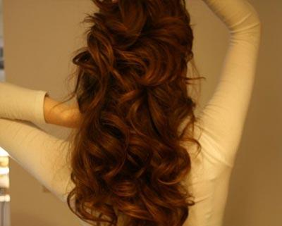 красивые кудрявые волосы