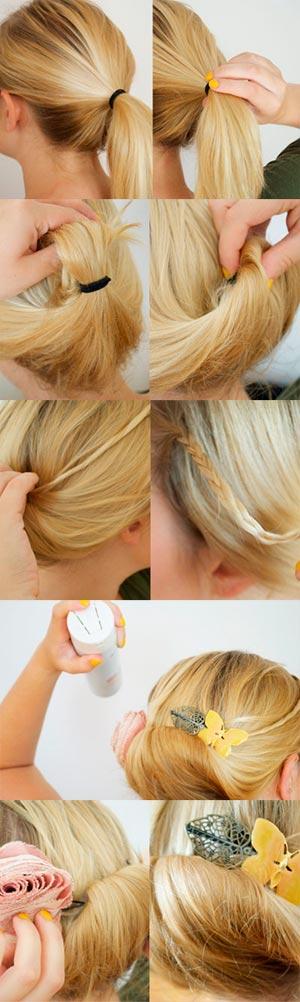 аккуратная укладка волос