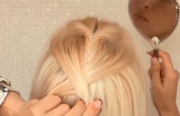 плетение волосы в колосок