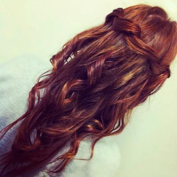коса водопад