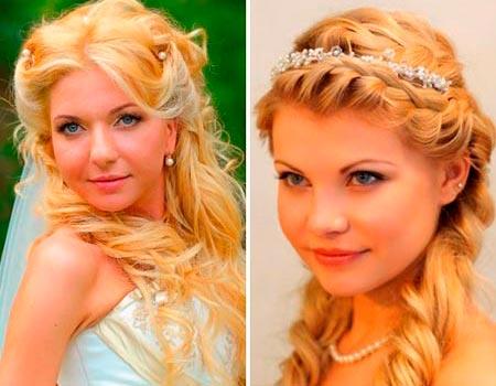 греческие прически невесты