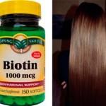 Биотин — секрет роста волос в таблетке