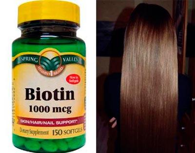 биотин для волос