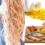 Рыбий жир от выпадения и для блеска волос