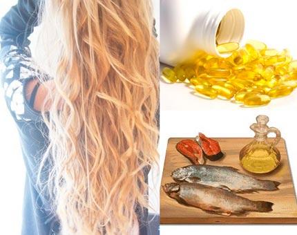 рыбий жир против выпадения волос