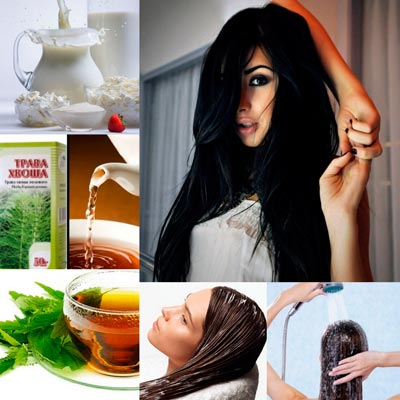 молоко для волос: рецепты ополаскиваний