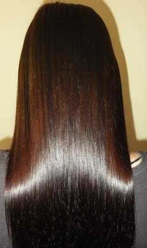 маска против тусклости волос