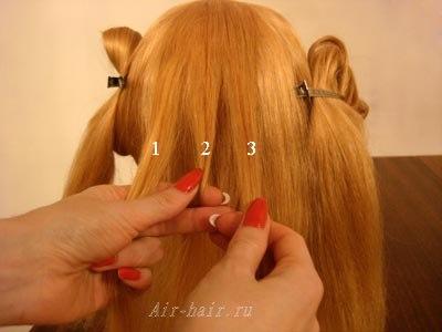 вывернутые косы