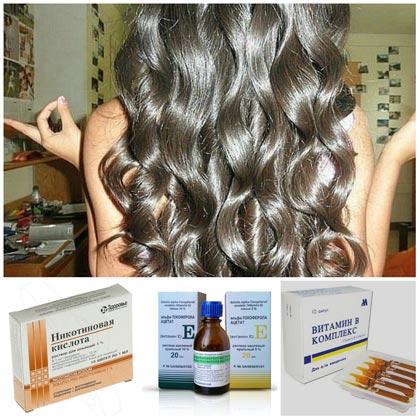 Как народными средствами уложить волосы
