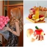 Яблочный уксус — сильные и блестящие волосы