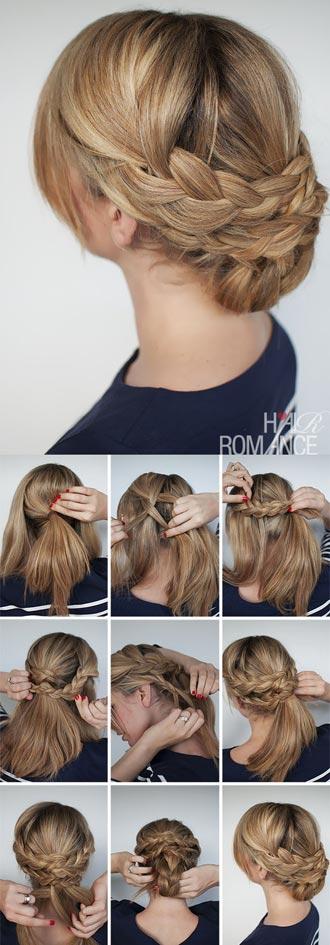 прическа на несвежие волосы