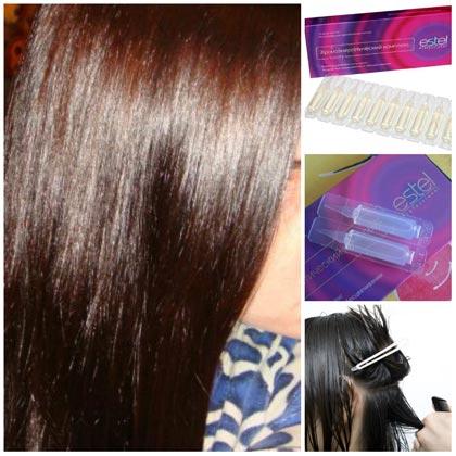 лечебные ампулы для волос