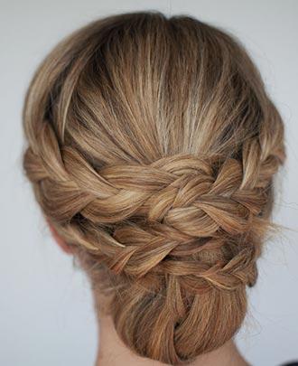 прическа на невсежие волосы