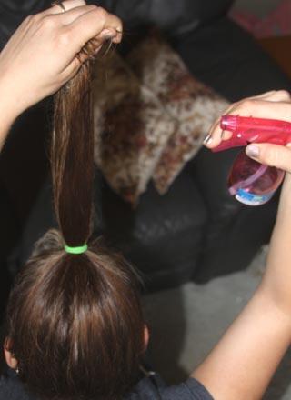 вьющиеся волосы без плойки