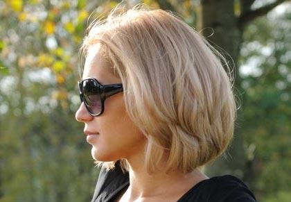 Фото блондинок на аву с короткими волосами