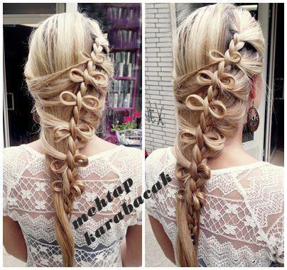 техника плетения косы