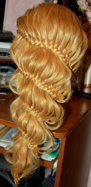 коса колокольчик