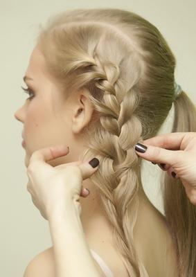 как уложить волосы на свадьбу