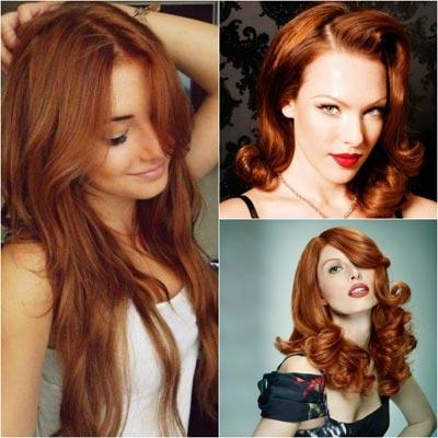 Рыжий цвет волос картинки