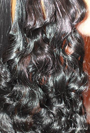 как завить искусственные волосы
