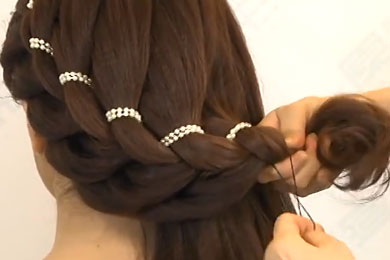 коса в 4 пряди