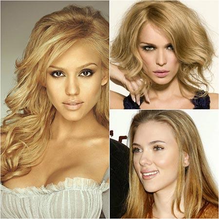 медовый блонд