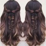 Прически на длинные волосы: быть красивой каждый день
