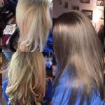 цвет волос пепел