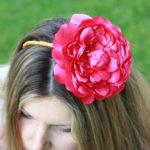 Невероятной красоты украшение для волос «Царица роз»